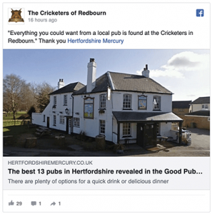 good pub guide 2020 hertfordshire